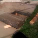 isecena kocka betona