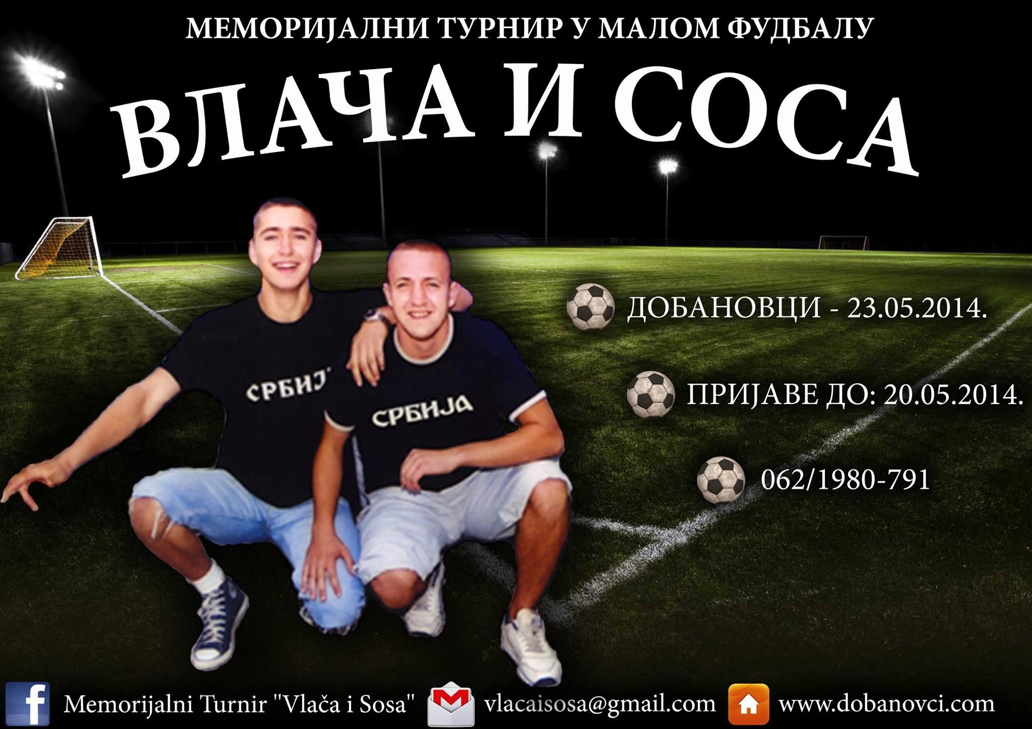 Vlača i Sosa – Memorijalni turnir 2014